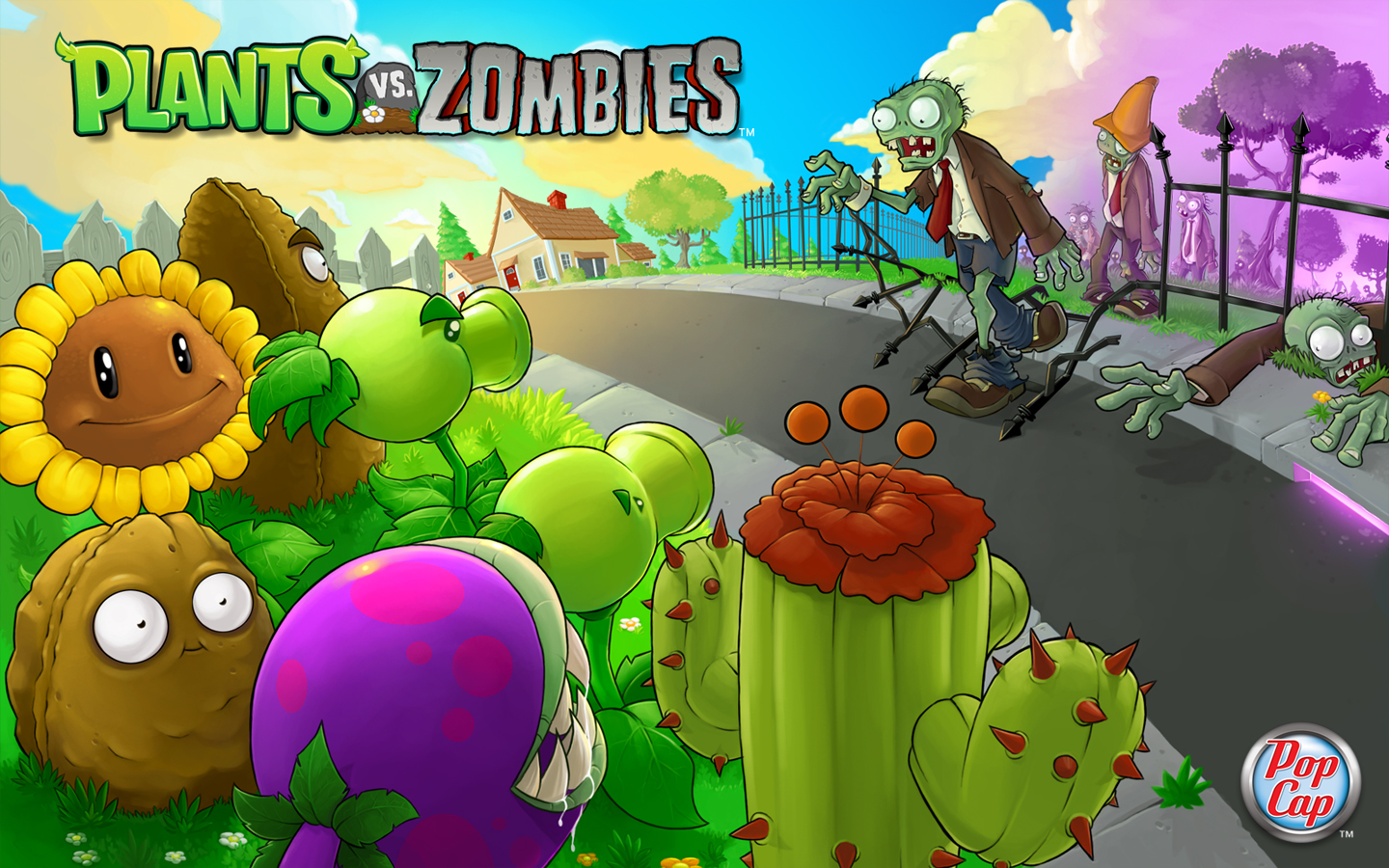 Descargar Plants vs Zombies Portable Full Español MF